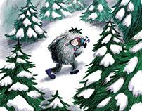 Le monstre des neiges