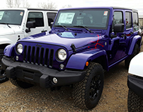 Jeep Wrangler Recolors