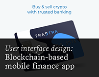 Mobile bank with integrated crypto trading