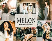 Free Melon Mobile & Desktop Lightroom Presets