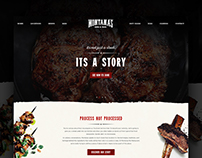 Montanas BBQ - Website Design