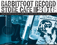 Rabbitfoot Record Store Cafe