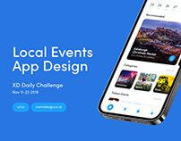 XD Daily Challenge Day 8 - Events App