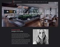 Site Fernanda Rubatino Arquitetura