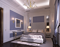 Stylish and Luxury Guest Bedroom interior