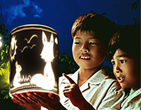 CUT OUT THE DARKNESS 2014 - Lantern design