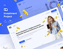 Investment Project - Landing Page
