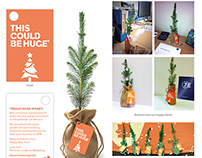 Mini Tree - Denvir Christmas Card 2014