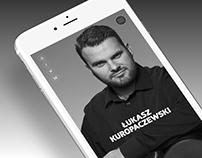 Kuropaczewski website design