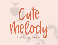 Cute Melody Font