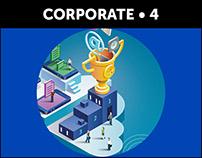 CORPORATE x 20 Portfolios Telecoms, Social Networks...