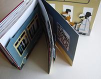 Bus impressions | experimental 3D pop-up book