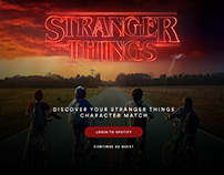 Spotify x Stranger Things 2
