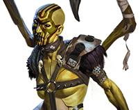 Mortal Kombat XL - D'Vorah