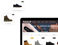 Timberland website