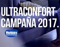 Huggies Ultraconfort campaña 2017