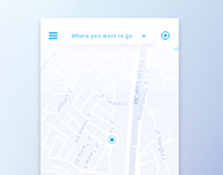 Shared Ride Services iOS app