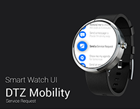 DTZ - Smart Watch Mockups