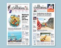 Rediseño del Diario El Universal de Cartagena
