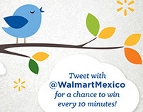 Walmart Mexico Twitter Ad