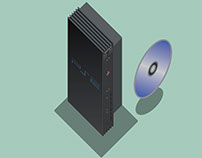 PlayStation 2 illustration