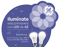 Ilumínate con General Electric