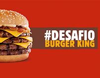 CAMPAÑA, Burger King #DesafíoBurgerKing