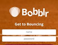 Bobblr, mobile game/app concept