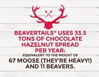 Beavertails - Site web