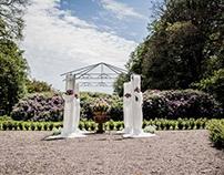 Et udendørs bryllup i Danmark