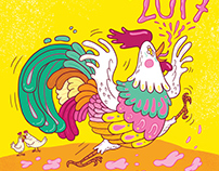 Konfuzius Magazin - Year of the rooster