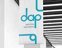 DAP Service Solutions | Branding, Web & Papelería