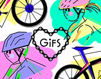Biking Gifs