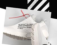 OFF-WHITE x Nike HyperAdapt 1.0