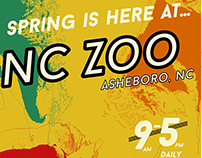 NC Zoo Poster