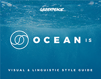 Interactive Visual & Linguistic Style Guide - Ocean Is