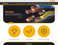 Ecc Website Design, PSD To HTML, JQ, JS, Wordpress