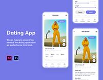 Dating Mobile App Design