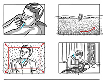Storyboard -Reanimation by Youssef Nassar
