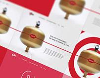 Zarya. Fire unit web site concept
