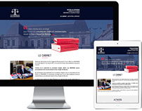 Site web Maître Luc Bourges