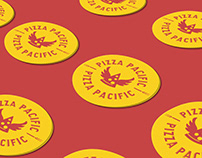 Pizza Pacific Branding