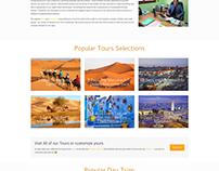 Eco desert Morocco, Tourism website