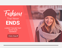 This is a Fashion Sale web banners which is fully edita
