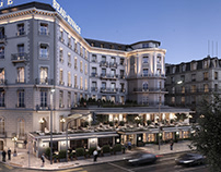 Beau-Rivage Hotel / Full CG