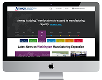 Amway Manufacturing Expansion