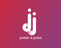 Juntar a Junta logo design