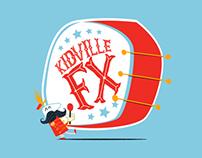 Kidville FX T-Shirt Design