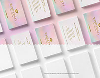 Business Cards Stacks PSD Mockup