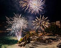 Firework Rheinfall (Switzerland)